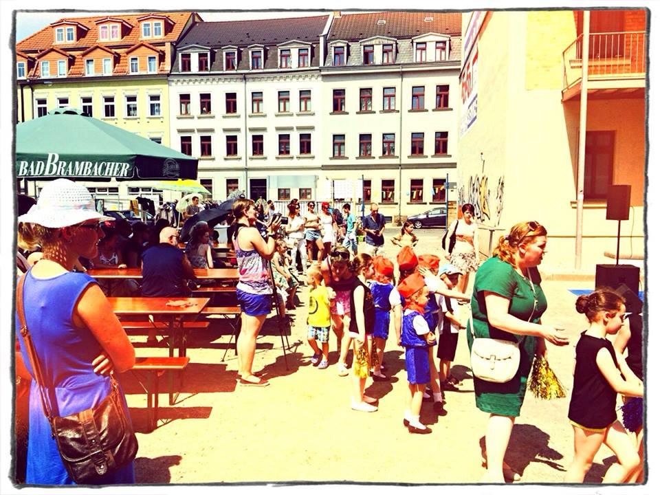 Besucher Sommerfest 2015